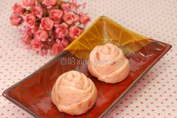 玫瑰小花卷