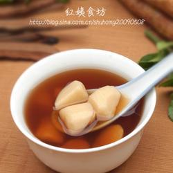 紫灵芝山药汤的做法[图]