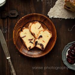 蔓越莓炼乳奶油蛋糕的做法[图]