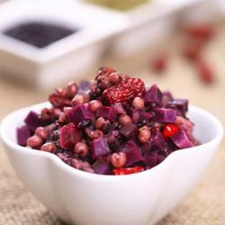 紫薯桂花红枣的做法[图]
