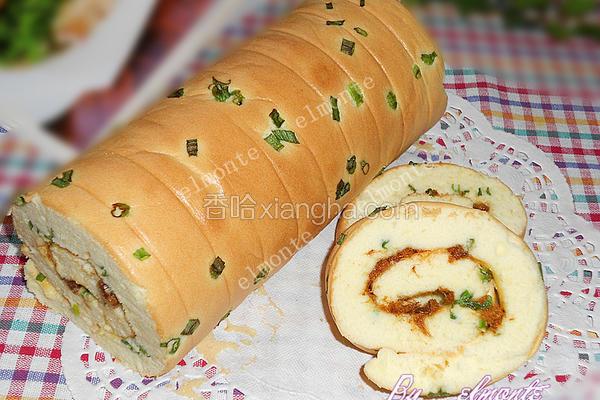香葱蛋糕卷
