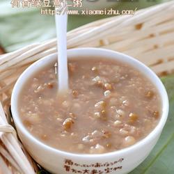 荷香綠豆薏仁粥的做法[圖]
