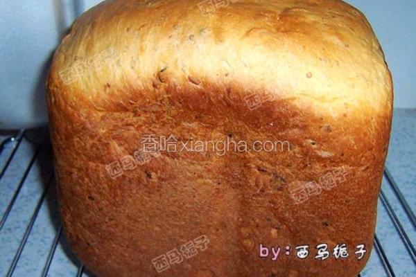 蜜豆大面包