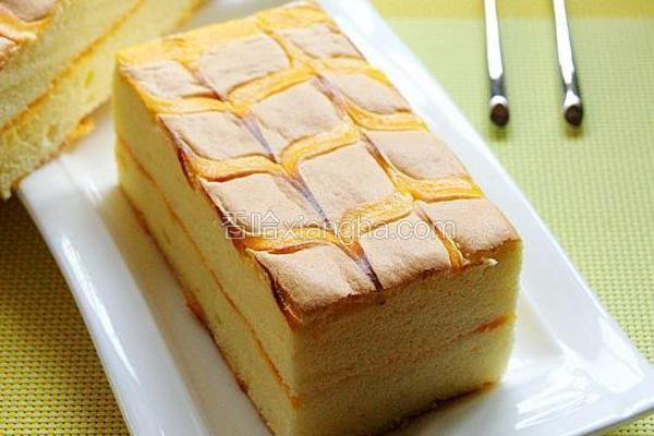 千叶纹夹心蛋糕