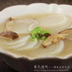 白萝卜暖身汤的做法[图]