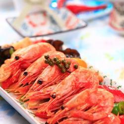 五色北极虾的做法[图]