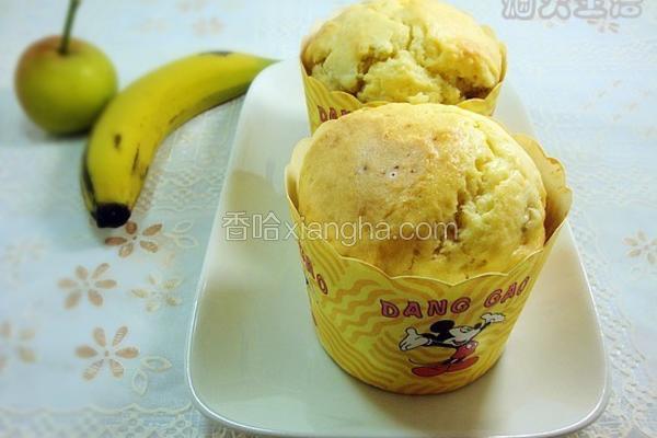 香蕉果肉玛芬
