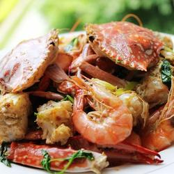 椒盐虾蟹的做法[图]