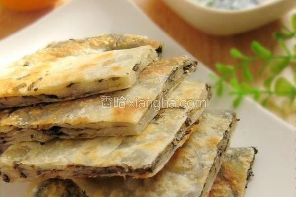 紫菜椒盐家常饼