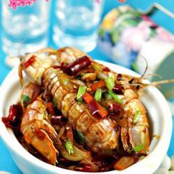 香辣虾蛄的做法[图]