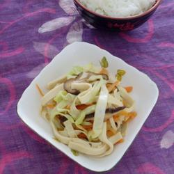 三絲炒豆腐皮的做法[圖]