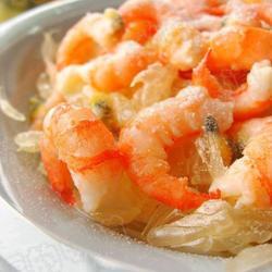 椰味柚子沙拉的做法[图]