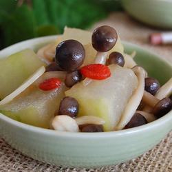 蟹味菇烧冬瓜的做法[图]