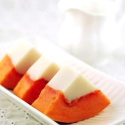 木瓜杏仁凍的做法[圖]