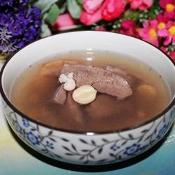 芡实莲子煲猪心的做法[图]