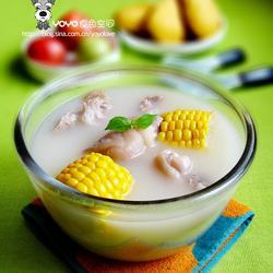 甜玉米猪手汤的做法[图]