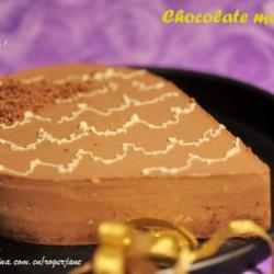 牛奶巧克力慕思蛋糕的做法[图]