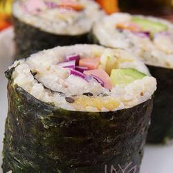 肉松紫甘蓝寿司的做法[图]