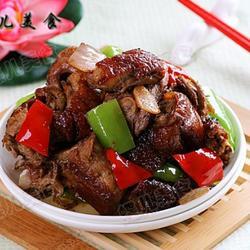 青椒炒烤鸭架的做法[图]