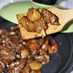 黑胡椒猪排杏鲍菇的做法[图]