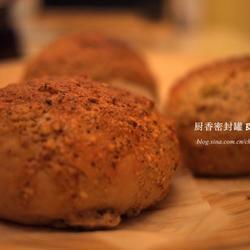 榛香花生酱软葡萄干面包的做法[图]