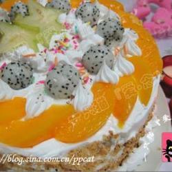 水果奶油蛋糕的做法[图]