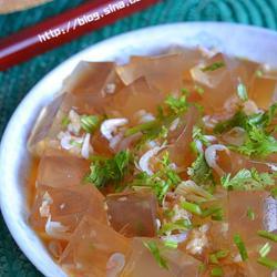 虾皮拌凉粉的做法[图]