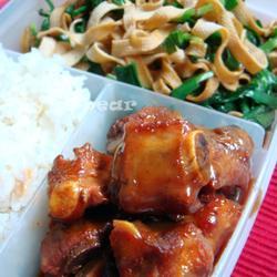 腐乳排骨&韭菜千張的做法[圖]