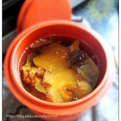 麦冬雪梨椰片炖汤的做法[图]