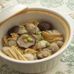 芋头腐竹煲的做法[图]