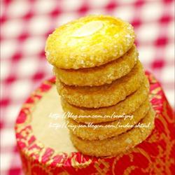 砂糖杏仁餅干的做法[圖]