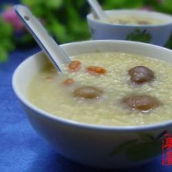 桂圆枸杞小米粥的做法[图]