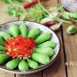 白灼小油菜的做法[图]