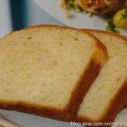 奶酪鸡蛋牛奶土司白面包的做法[图]