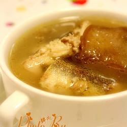 淡甲鱼菜脯汤的做法[图]