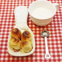 蜂蜜牛奶小面包的做法[图]
