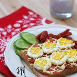 番茄鸡蛋吐司的做法[图]