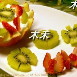 酸奶苹果盅的做法[图]