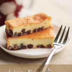 红豆乳酪蛋糕的做法[图]