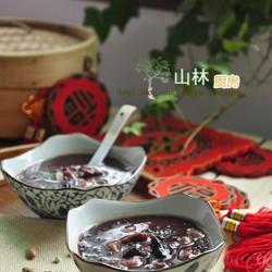 黑糯米红枣芸豆粥的做法[图]