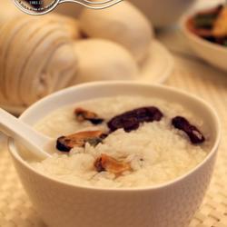 红枣淡菜粥的做法[图]