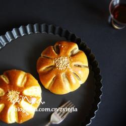 綠豆沙面包的做法[圖]