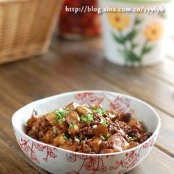 菱角烧豆腐的做法[图]