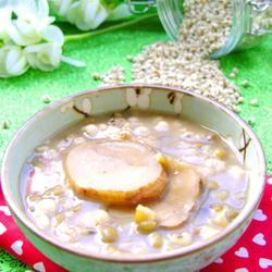 白芷綠豆薏仁湯的做法[圖]