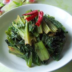 豆瓣酱香油麦菜的做法[图]