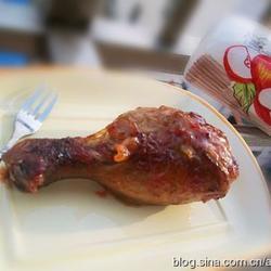 茄汁蜂蜜烤雞腿的做法[圖]