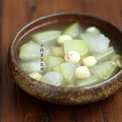 冬瓜蓮子湯的做法[圖]