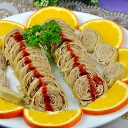 豆腐皮豬肉卷的做法[圖]