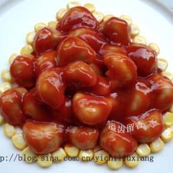 茄汁菱角的做法[图]