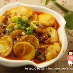 肉酱烧玉子豆腐的做法[图]